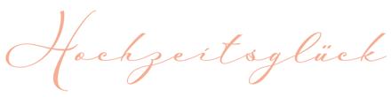 Logo-Hochzeitsglück-Hochzeits-Tischdekoration-1